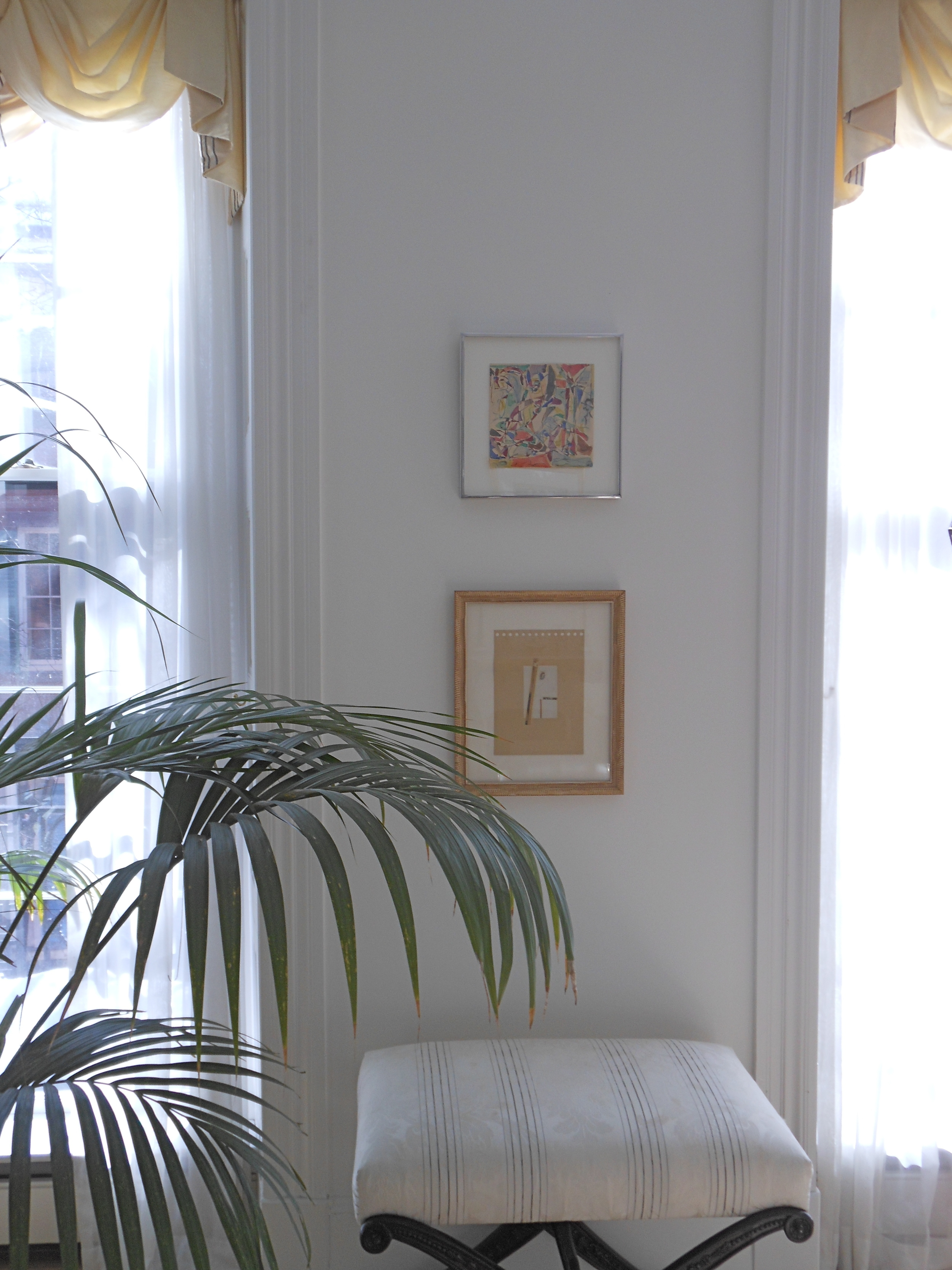 Living room, Beacon Hill residence