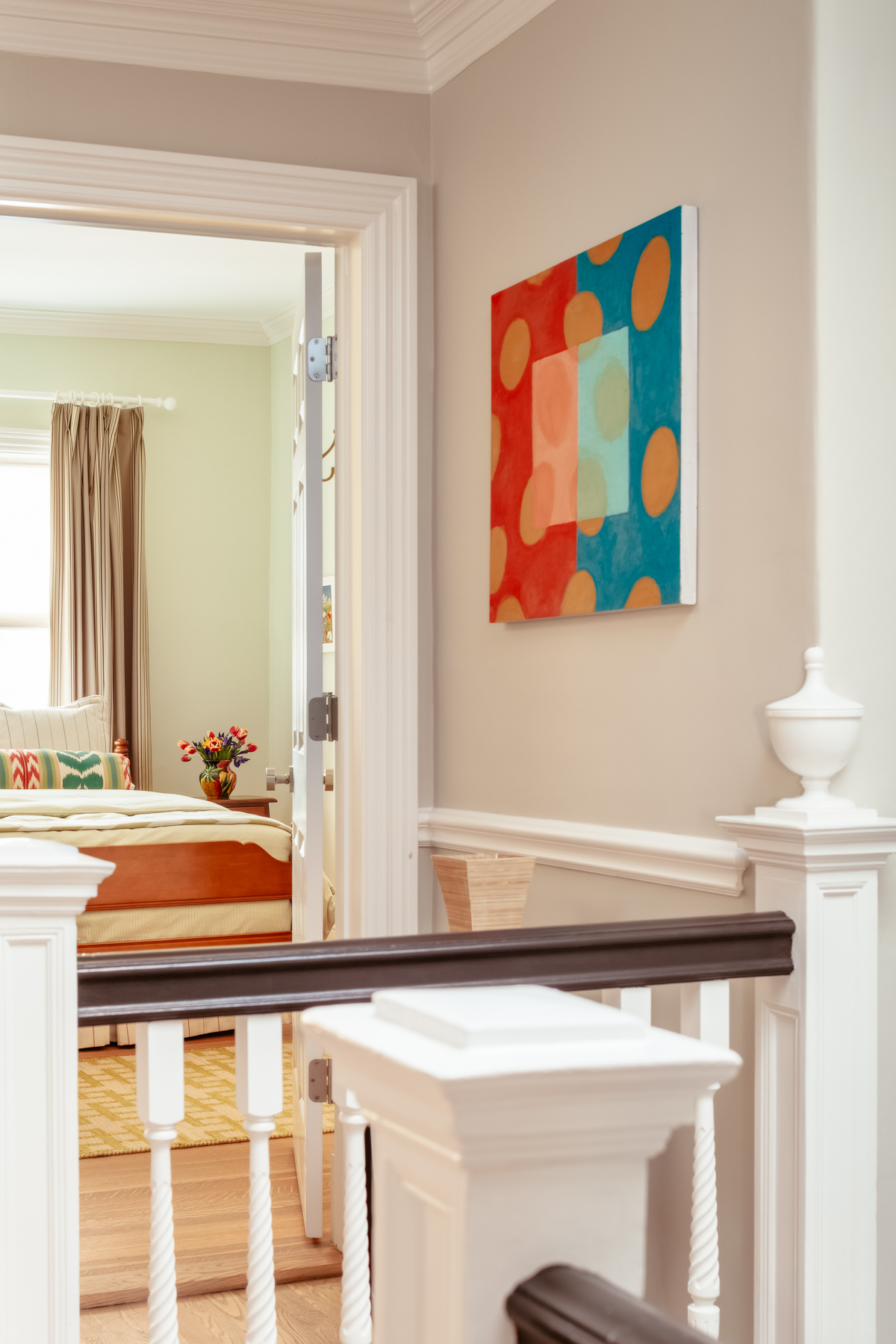 Brookline residence Painting by DANETTE ENGLISH