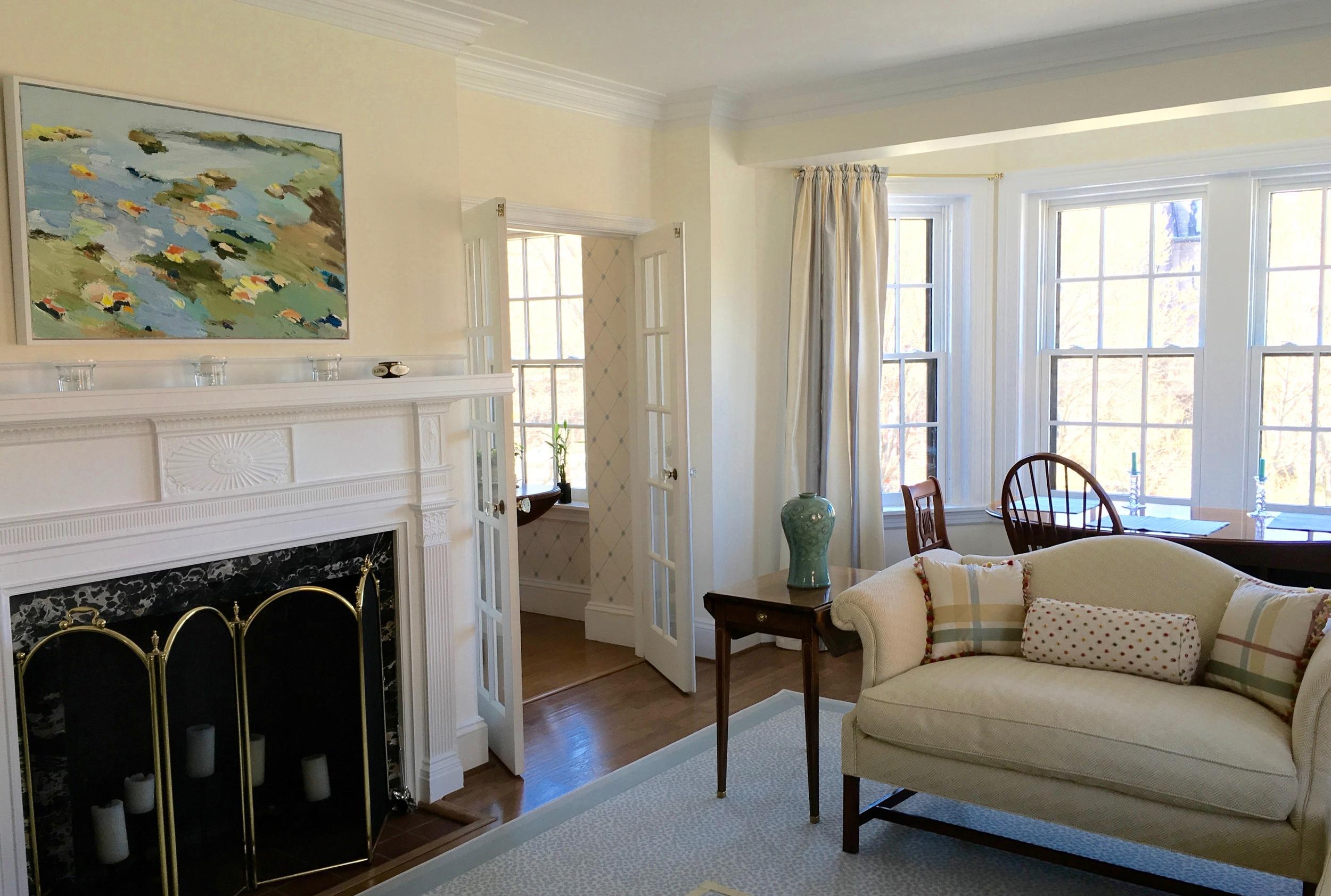 Living room  Painting by JOHN VINTON