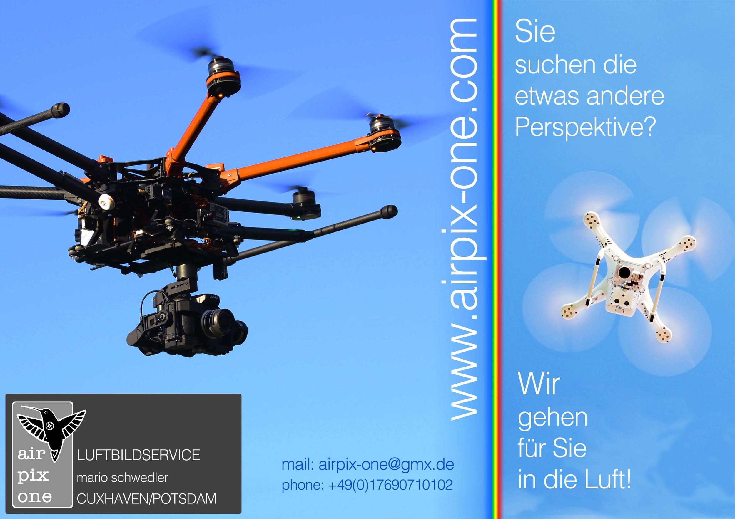airpix-one flyer außen