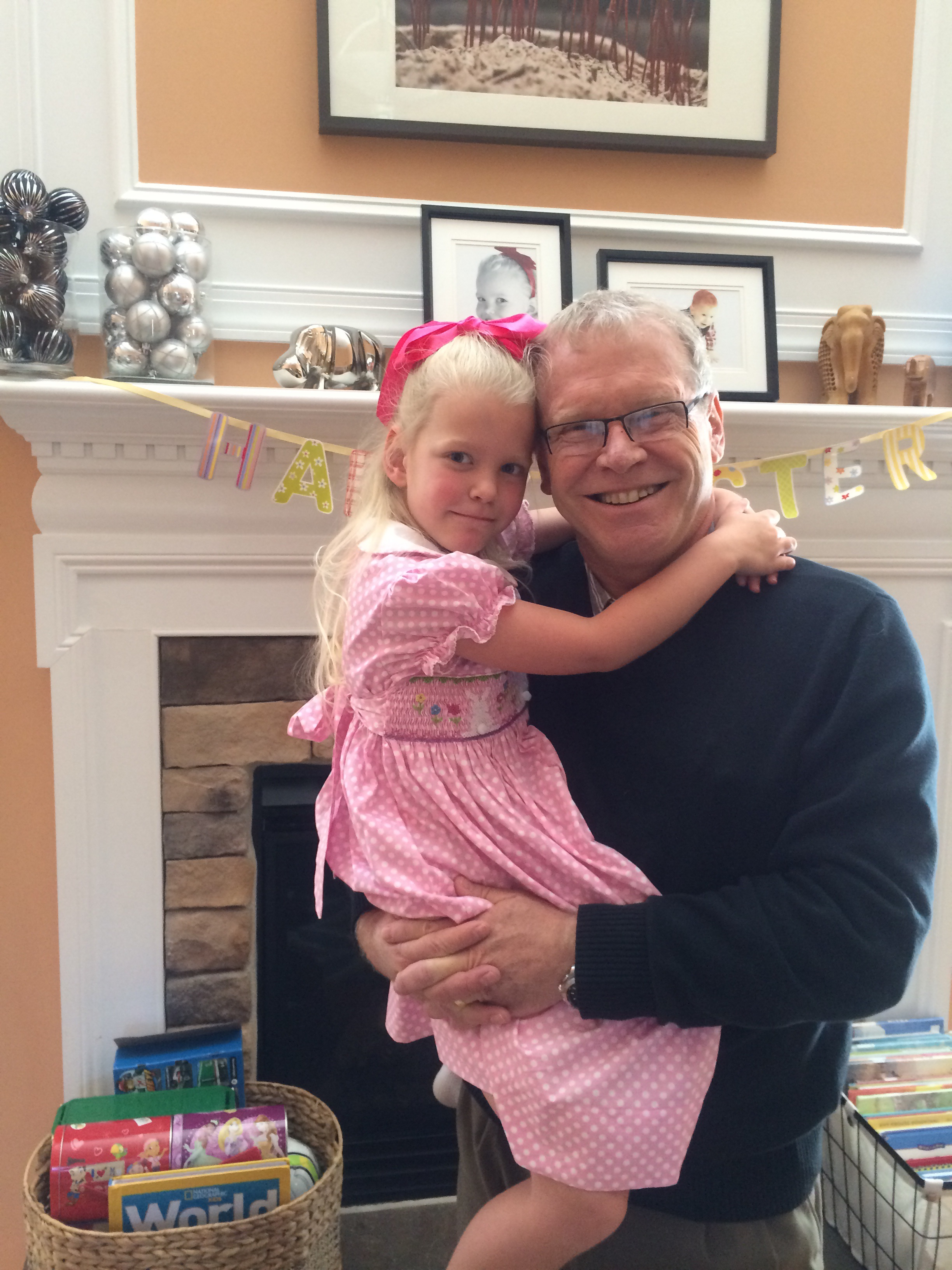 Paul and our precious Ava!