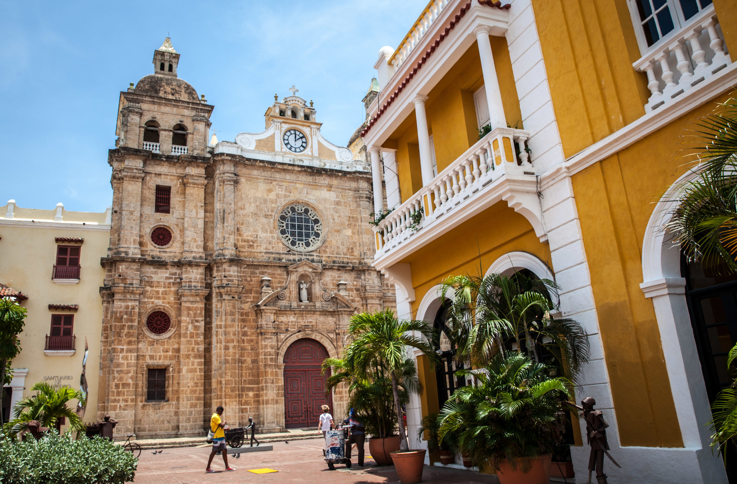 Day 1: Arrive to Cartagena, where we will pick you up from the airport and explore the city this evening