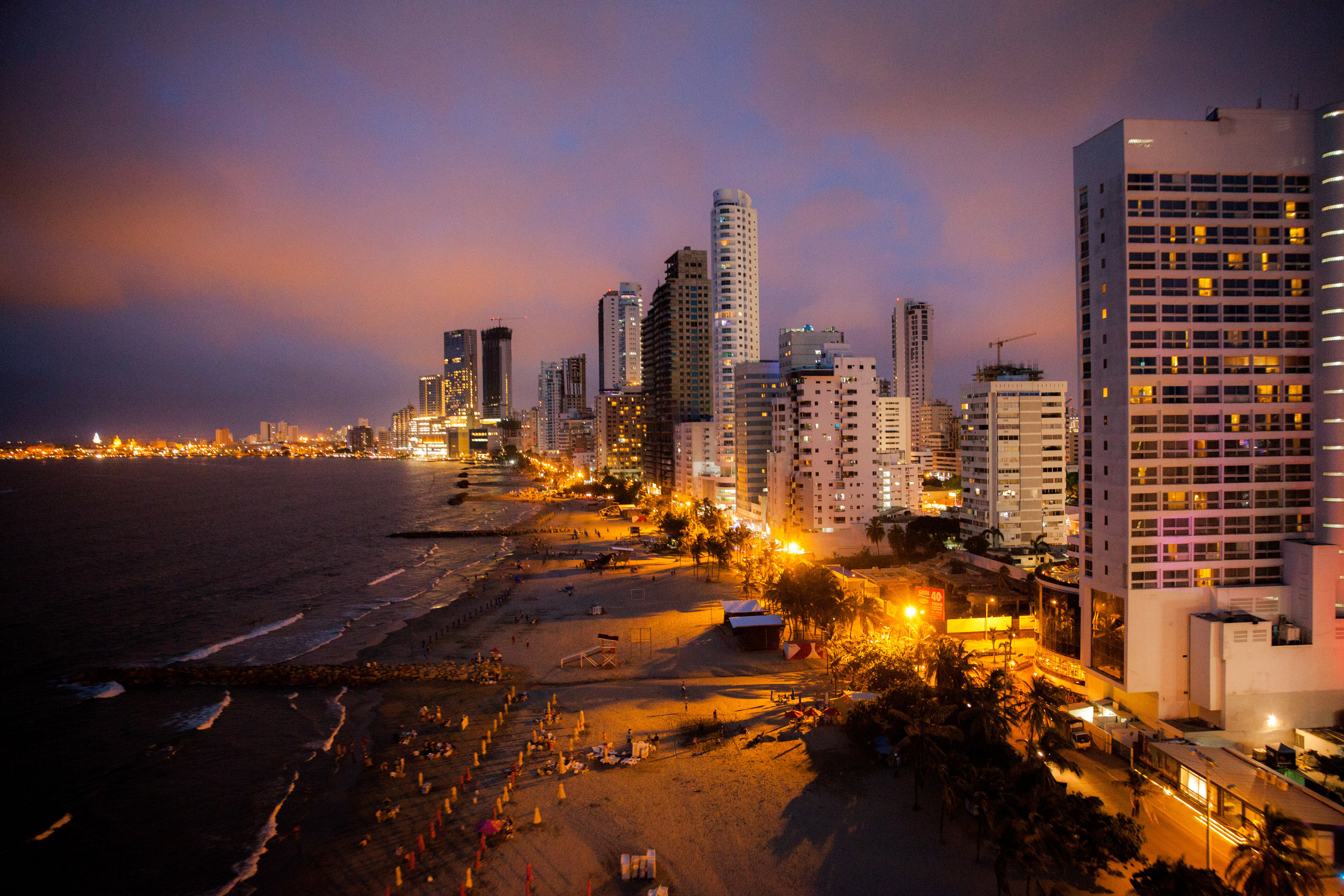 Tonight we will have a final celebratory dinner and then head out to explore Cartagena's nightlife