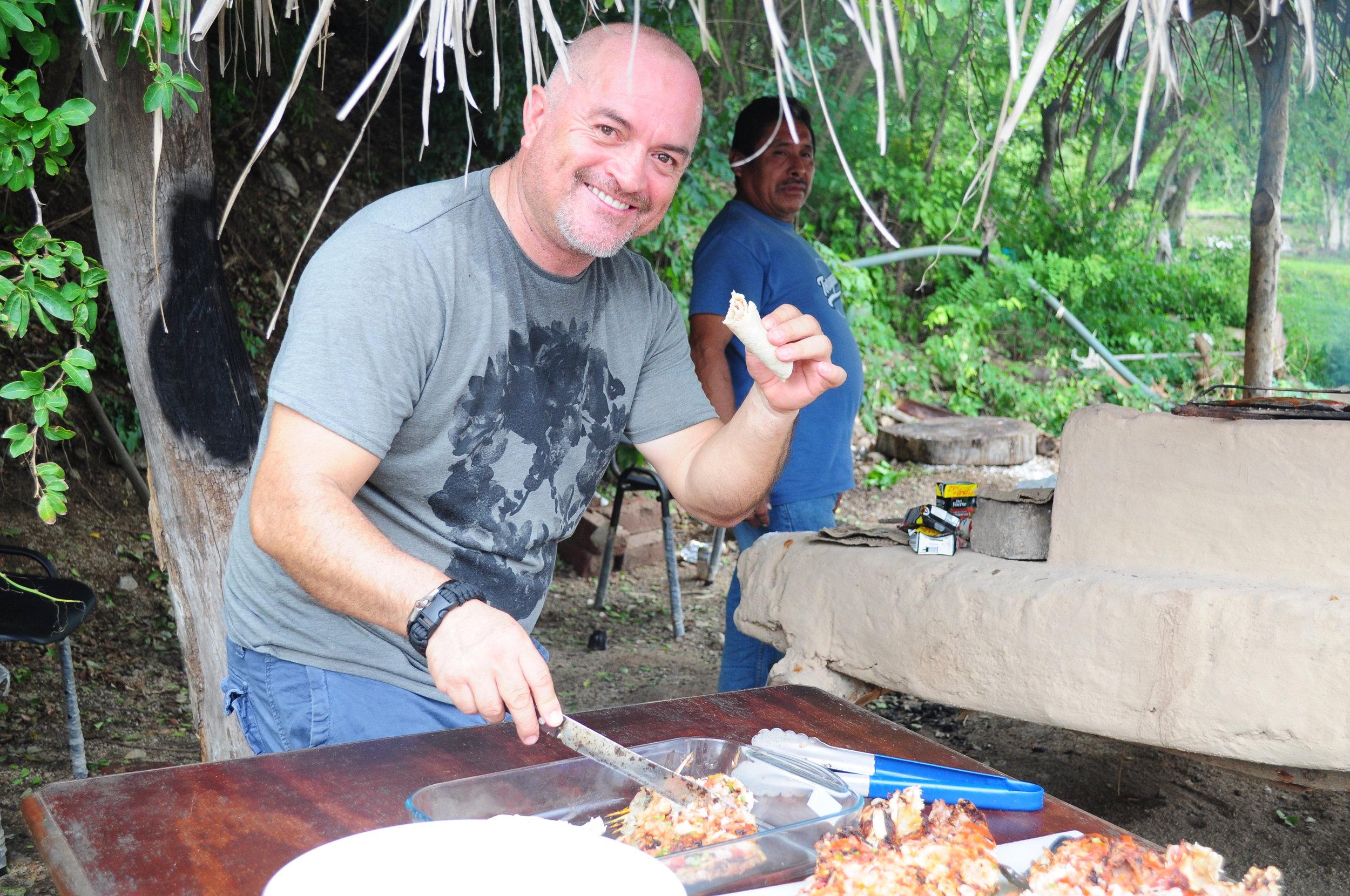 Colola biologist Carlos Delgado