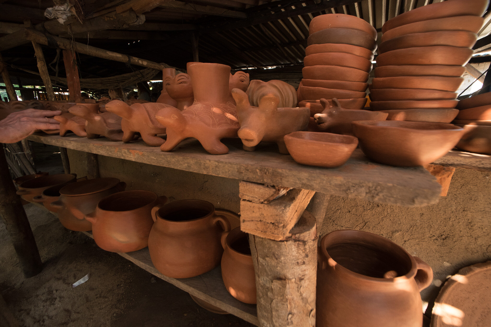 Local ceramic handicrafts