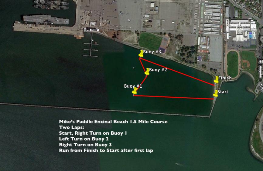 Encinal Beach Location