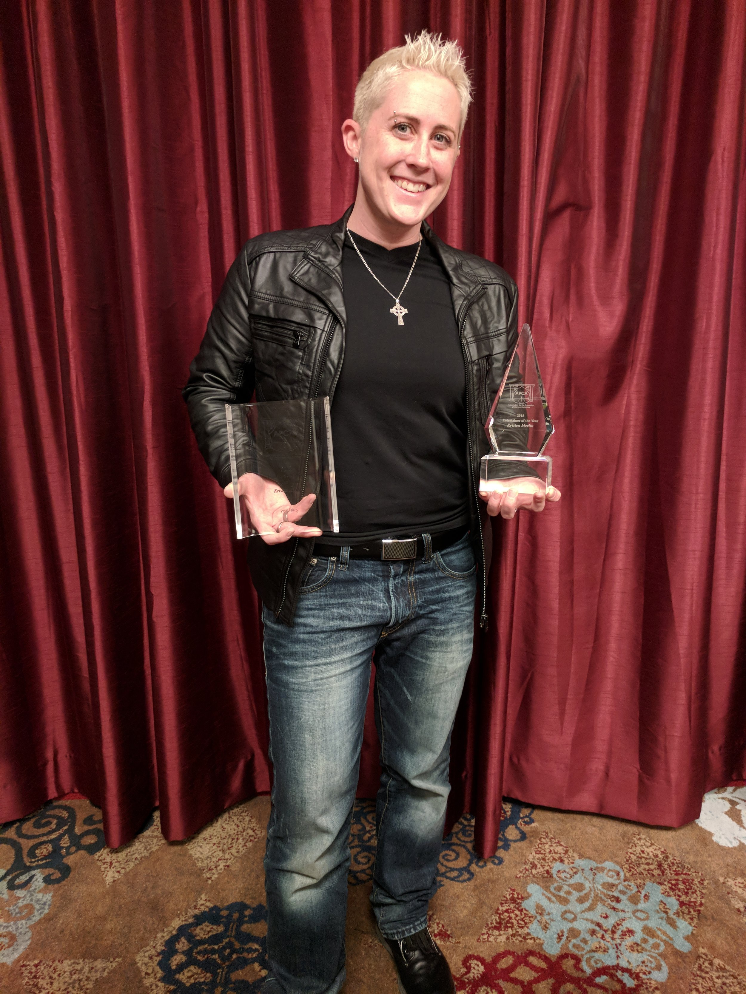 Kristen Merlin - Entertainer of the Year and Female Solo Artist of the Year