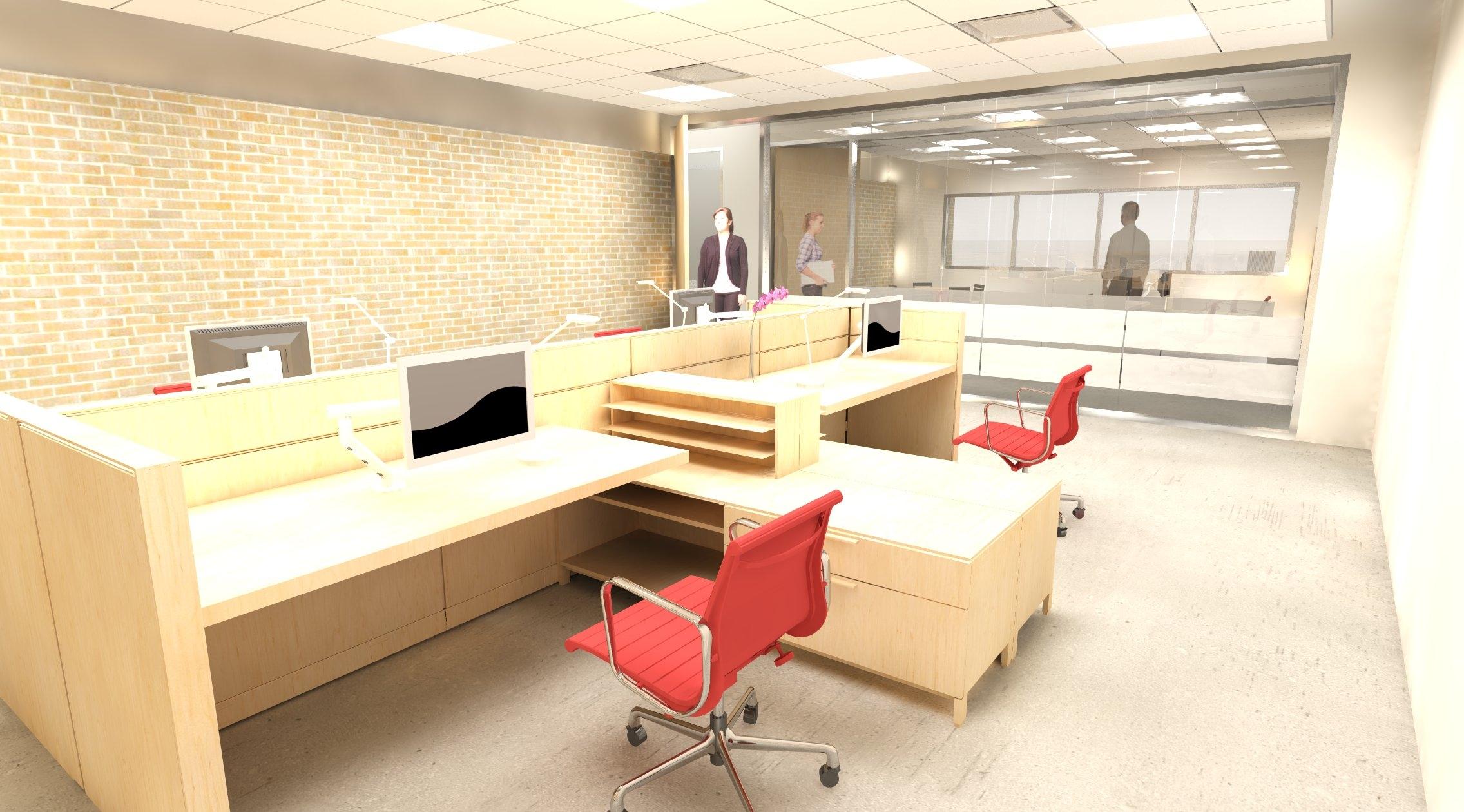 Cohort office rendering