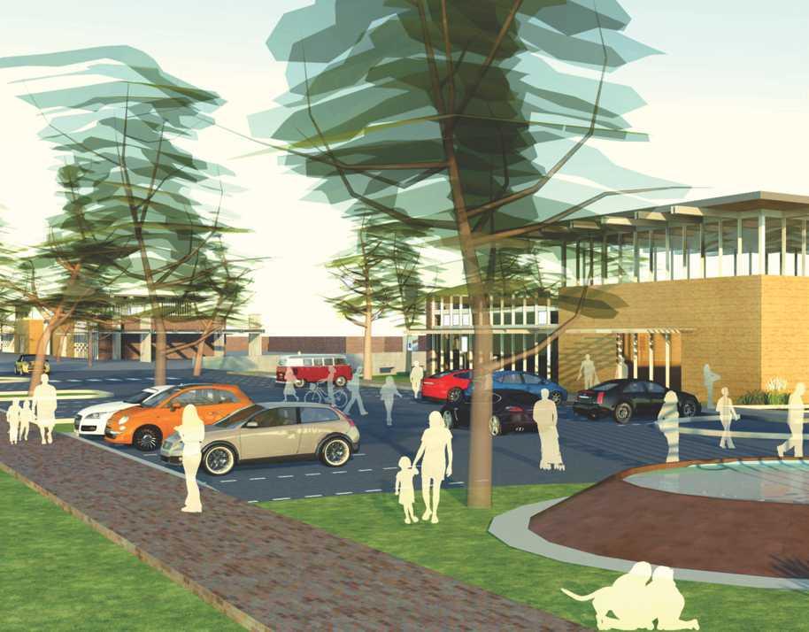 Retail: Shopping Center Masterplan