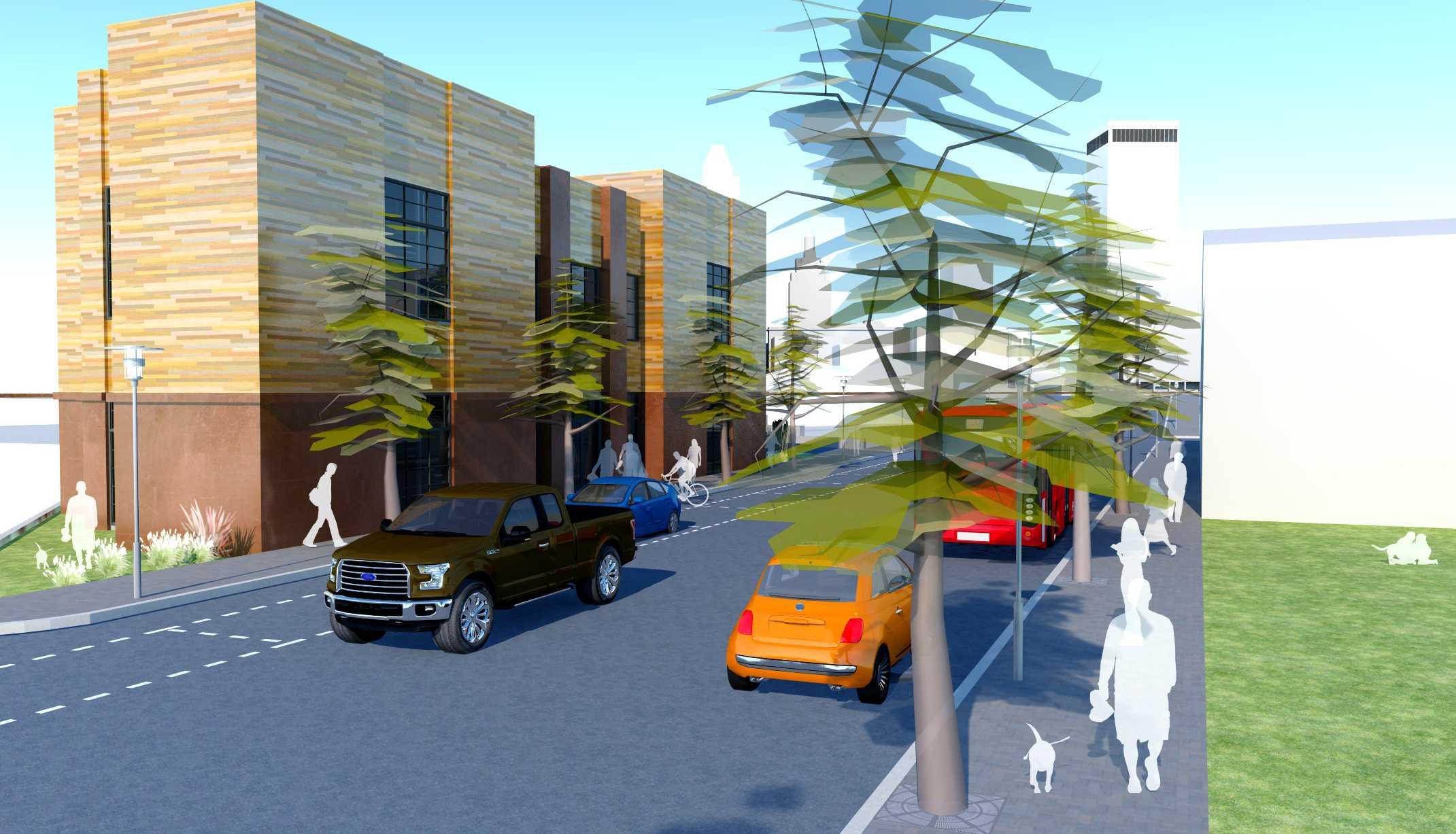 Mixed-use: Development near Downtown Tulsa