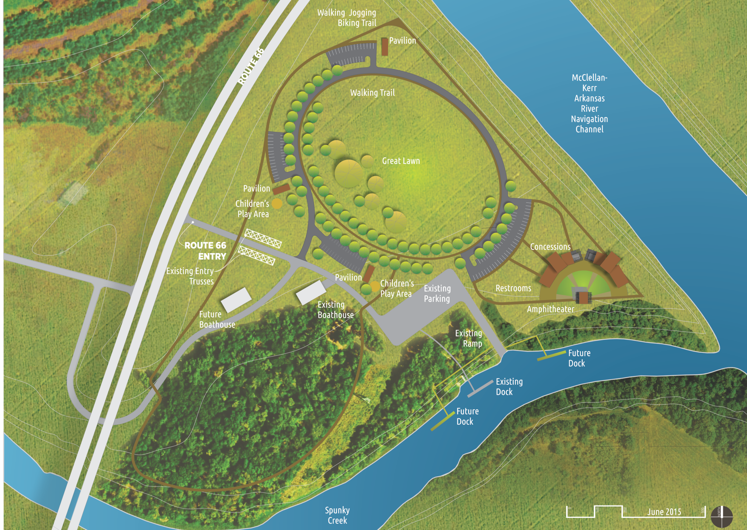 Masterplans: City of Catoosa Rogers Point Park
