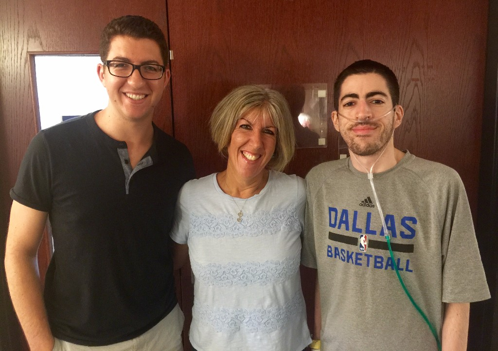RSF Executive Director, Jordan Herskowitz, his brother, Neil, and their mom, Barbie.