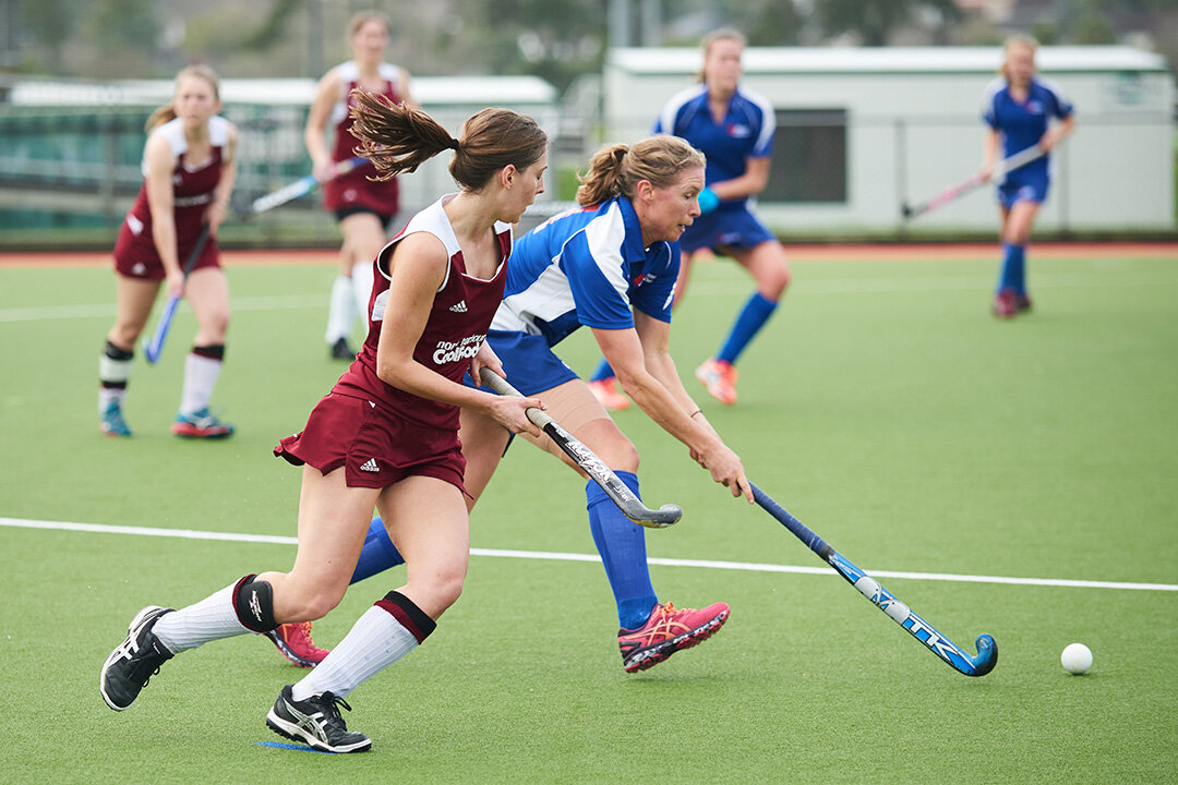 Women's field hockey at North Harbour Hockey in Auckland