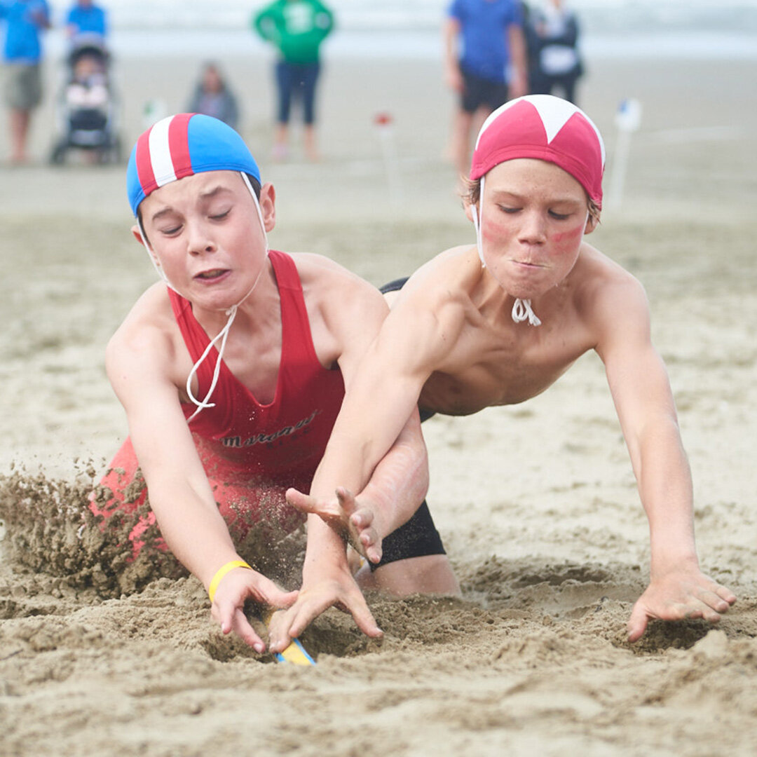 Surf Life Saving New Zealand junior champs at Orewa Beach (1-4 March 2018)