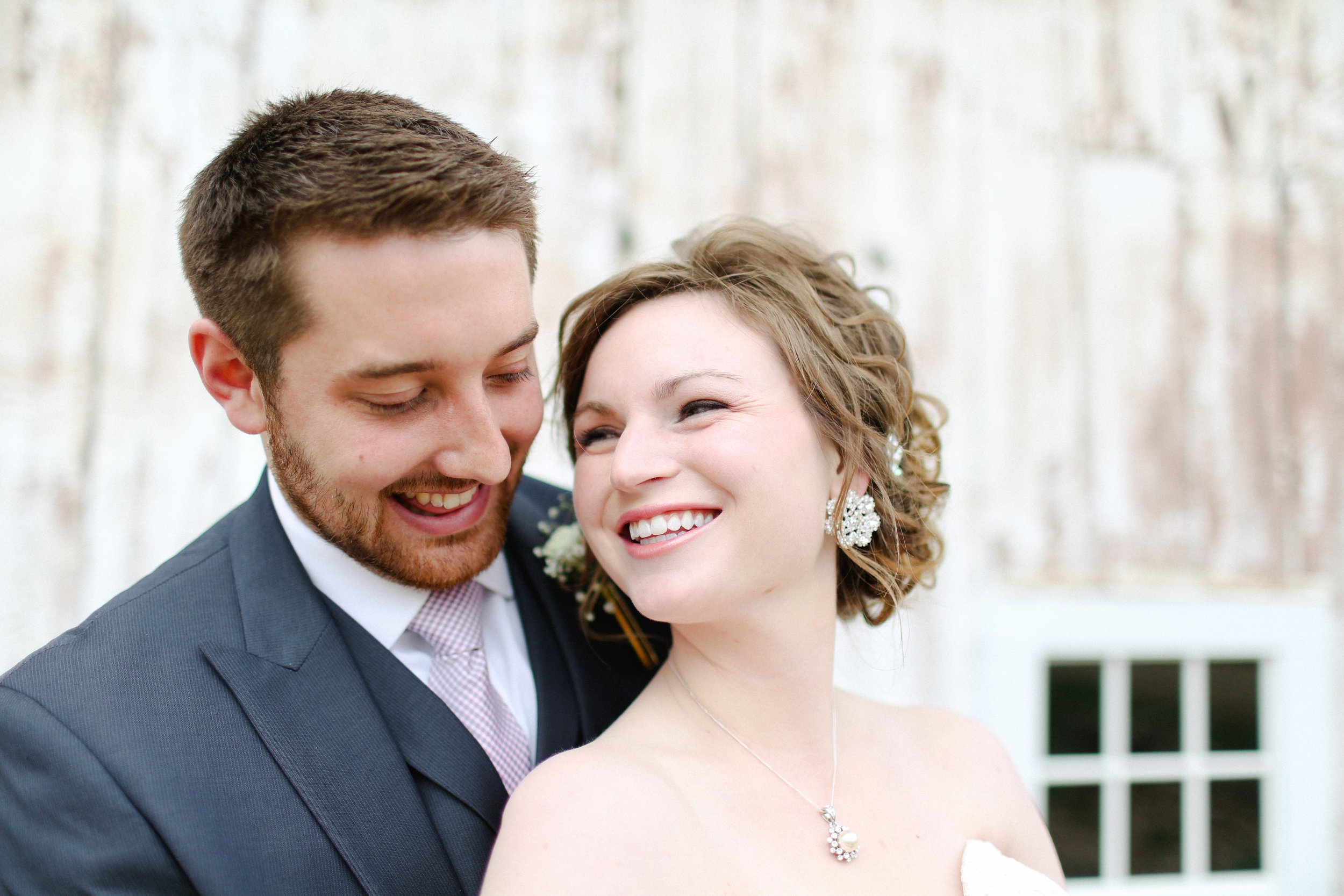 Rachel & Jared Miller, Married May 9, 2014 at Barn at Harvest Moon Pond