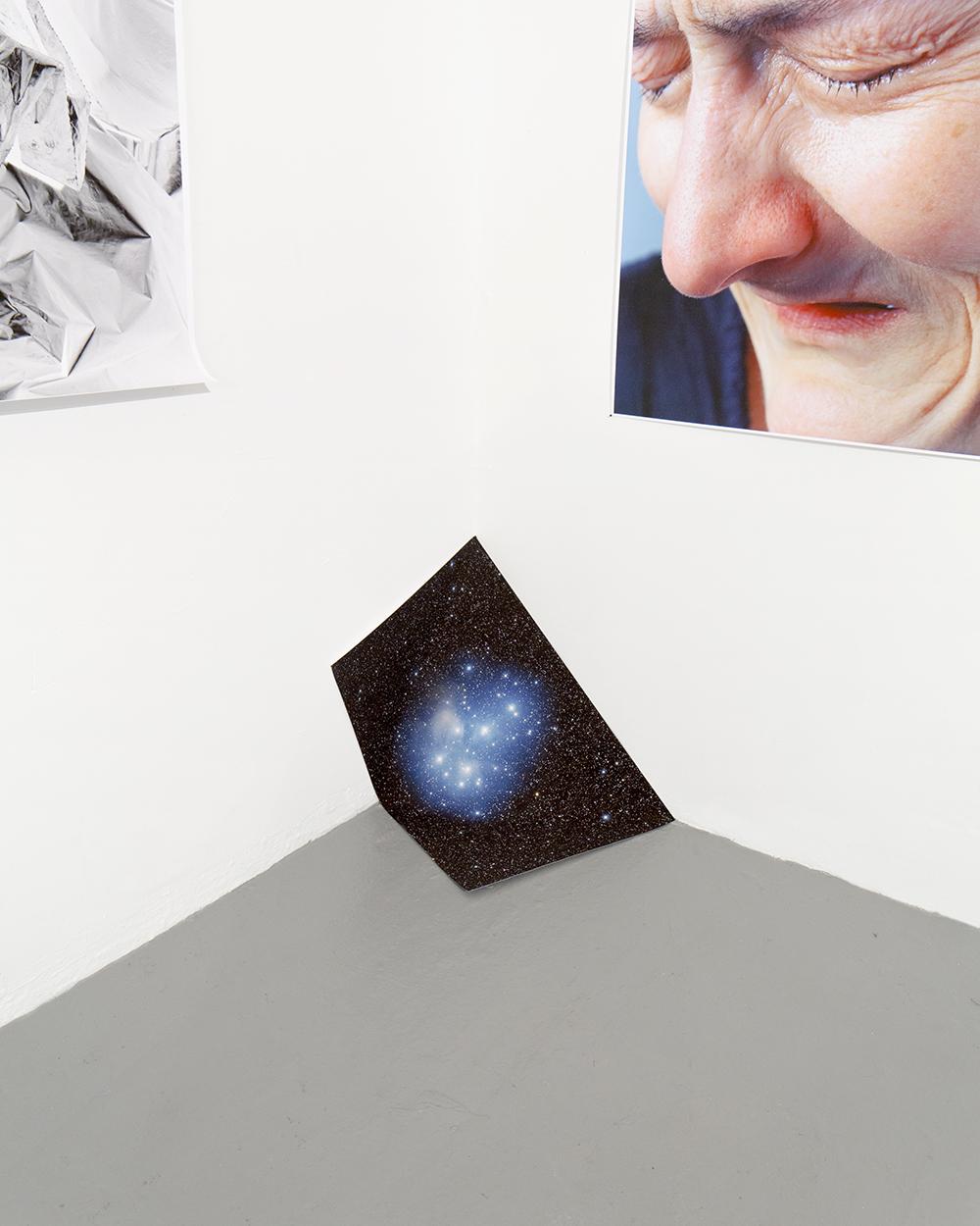 "Pleiades Folding, 2015 / 25""x16"" / Inkjet"
