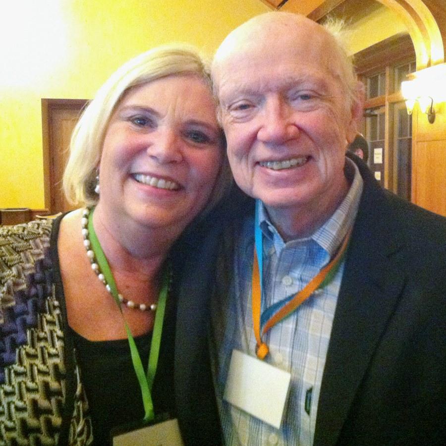 Susan with   Regis McKenna