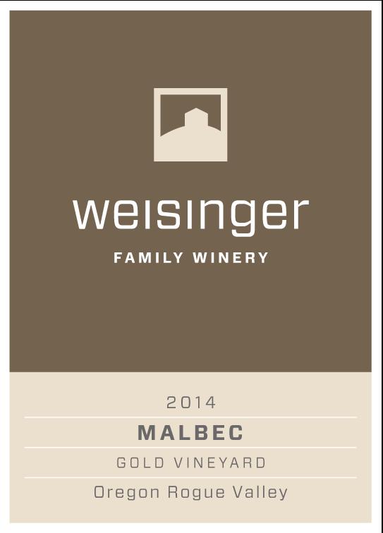 2014 Weisinger Malbec, Oregon wine