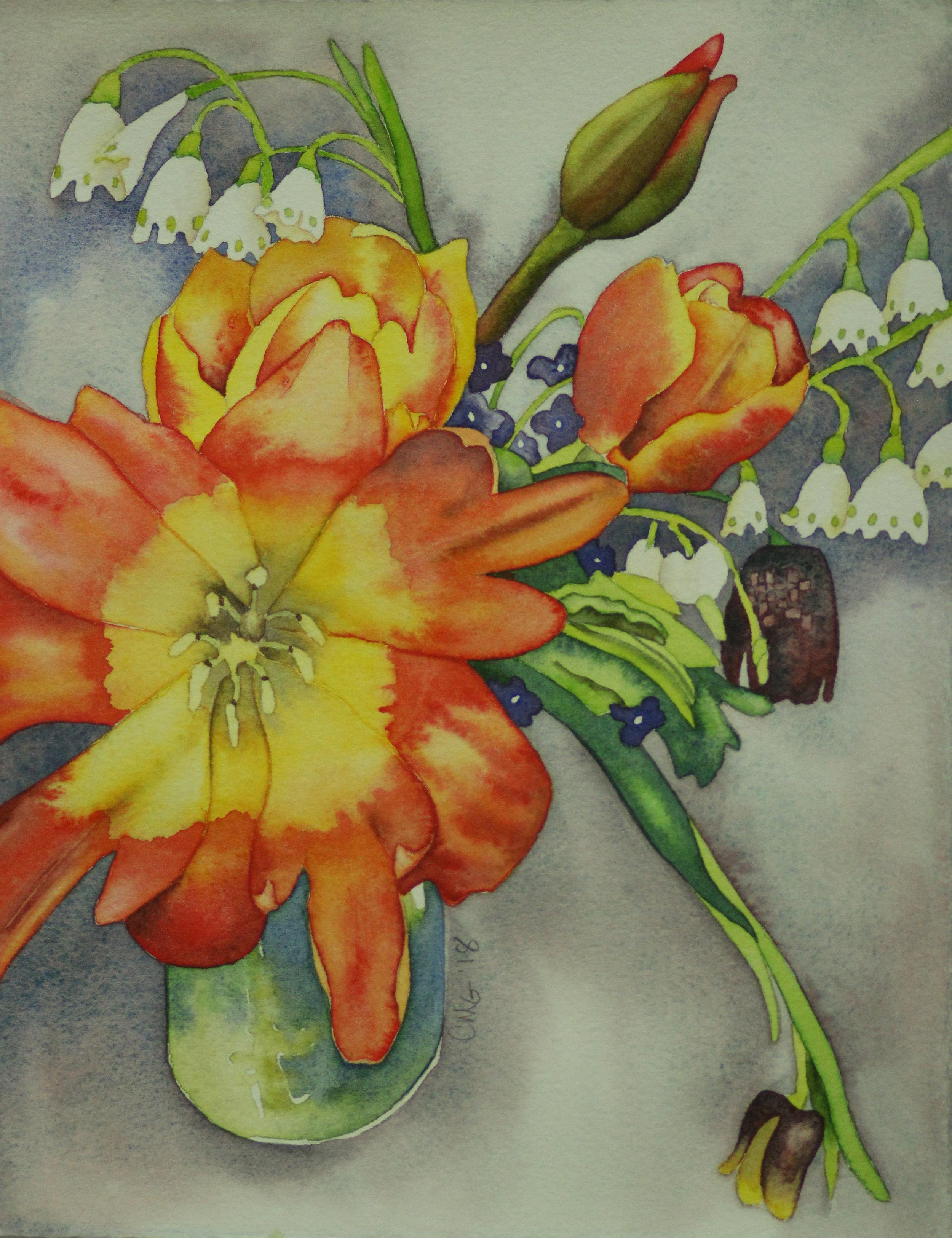 Linda's Last Bouquet II