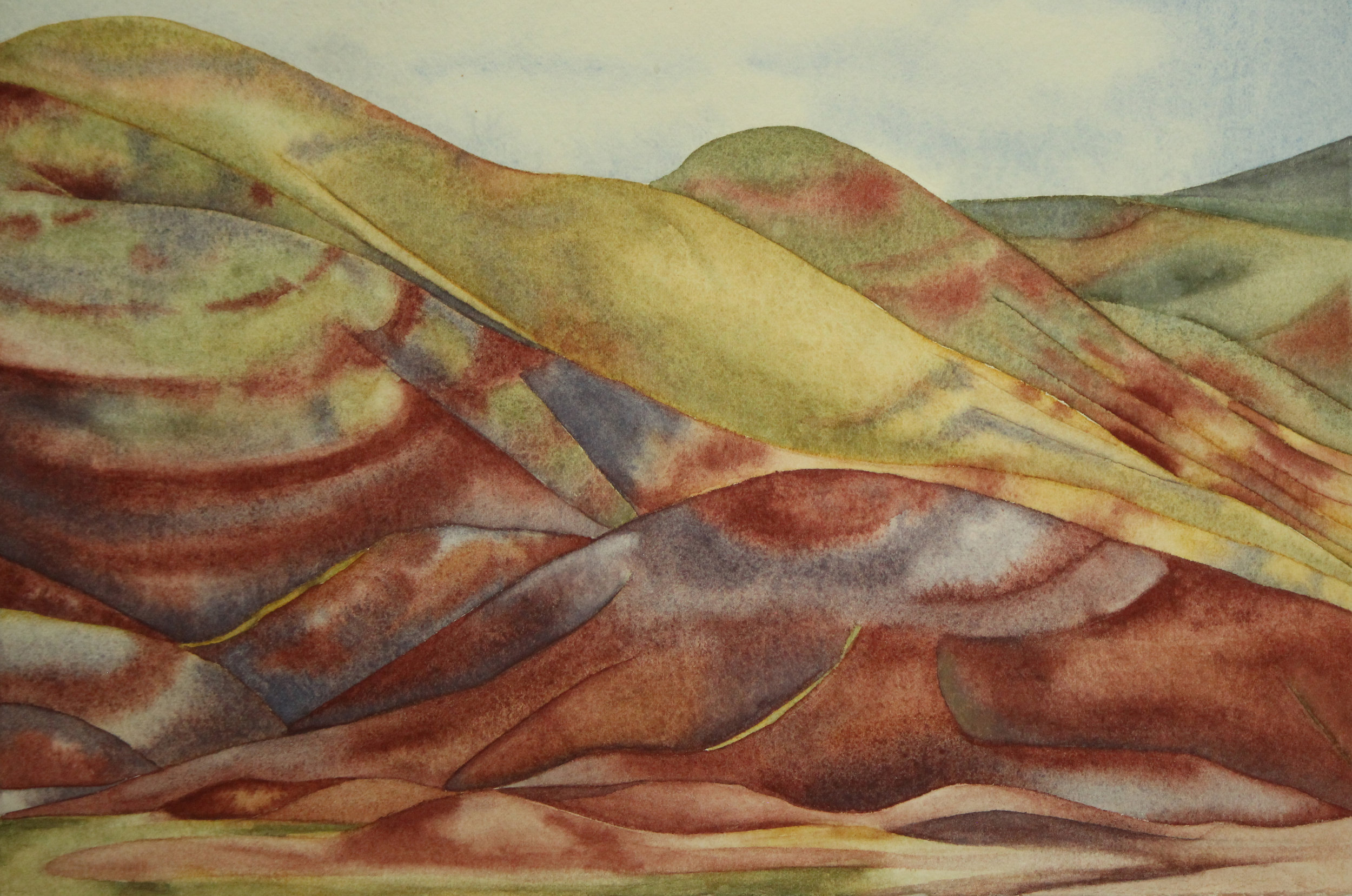 Colored-Banded Hills