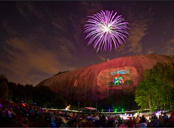 "Image Source: Flickr | Jimmy Baikovicius ""Stone Mountain, Lasershow, Atlanta"" (cc 2.0)"