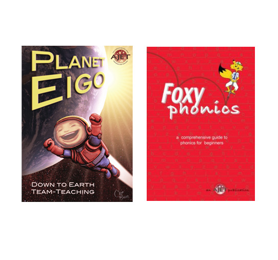 Teaching english - These two books are available for free on the National AJET website. Planet Eigo includes several hundred pages of game and activity ideas, and a few chapters on teaching pedagogy. Foxy Phonics is a phonics teaching resource.