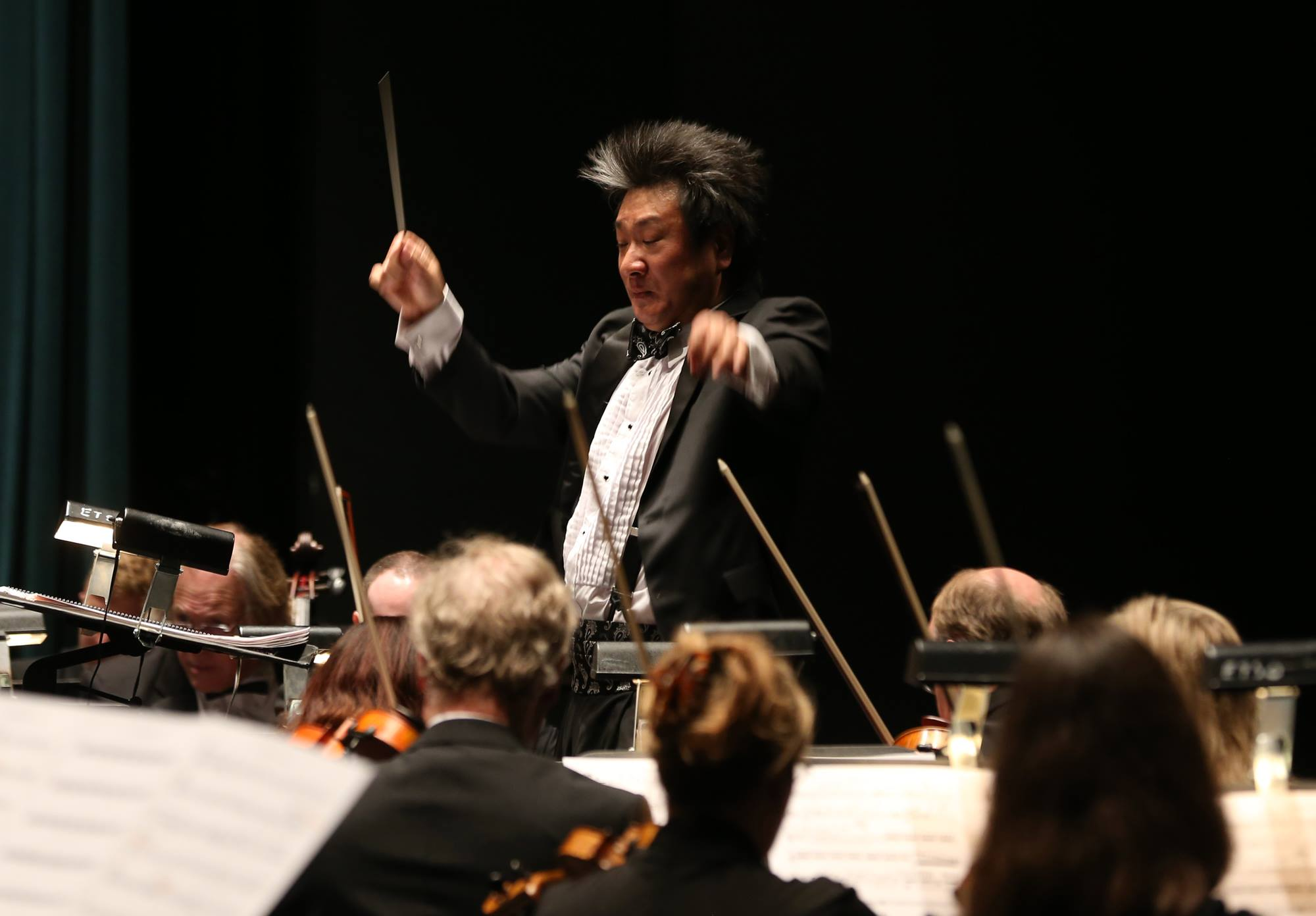 In March, the East Texas Symphony Orchestra premiered    Glacier Bay    under the direction of Richard Lee.