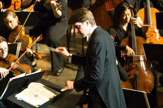 Michael Butterman with the Boulder Philharmonic