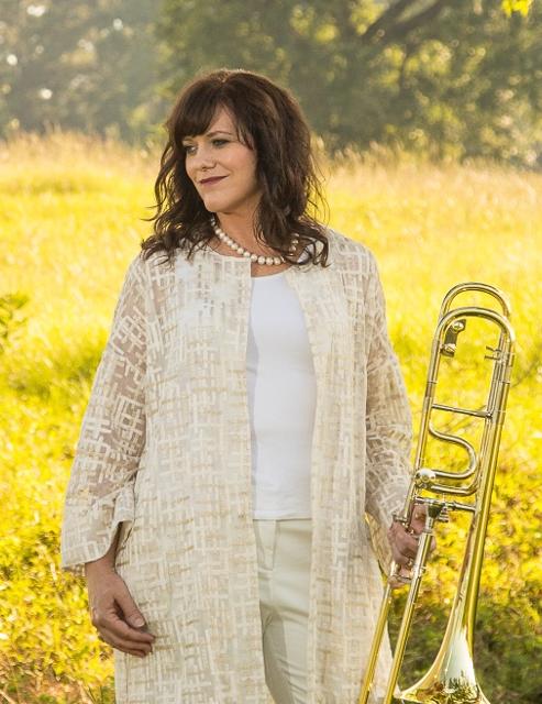 Trombonist, Deb Scott