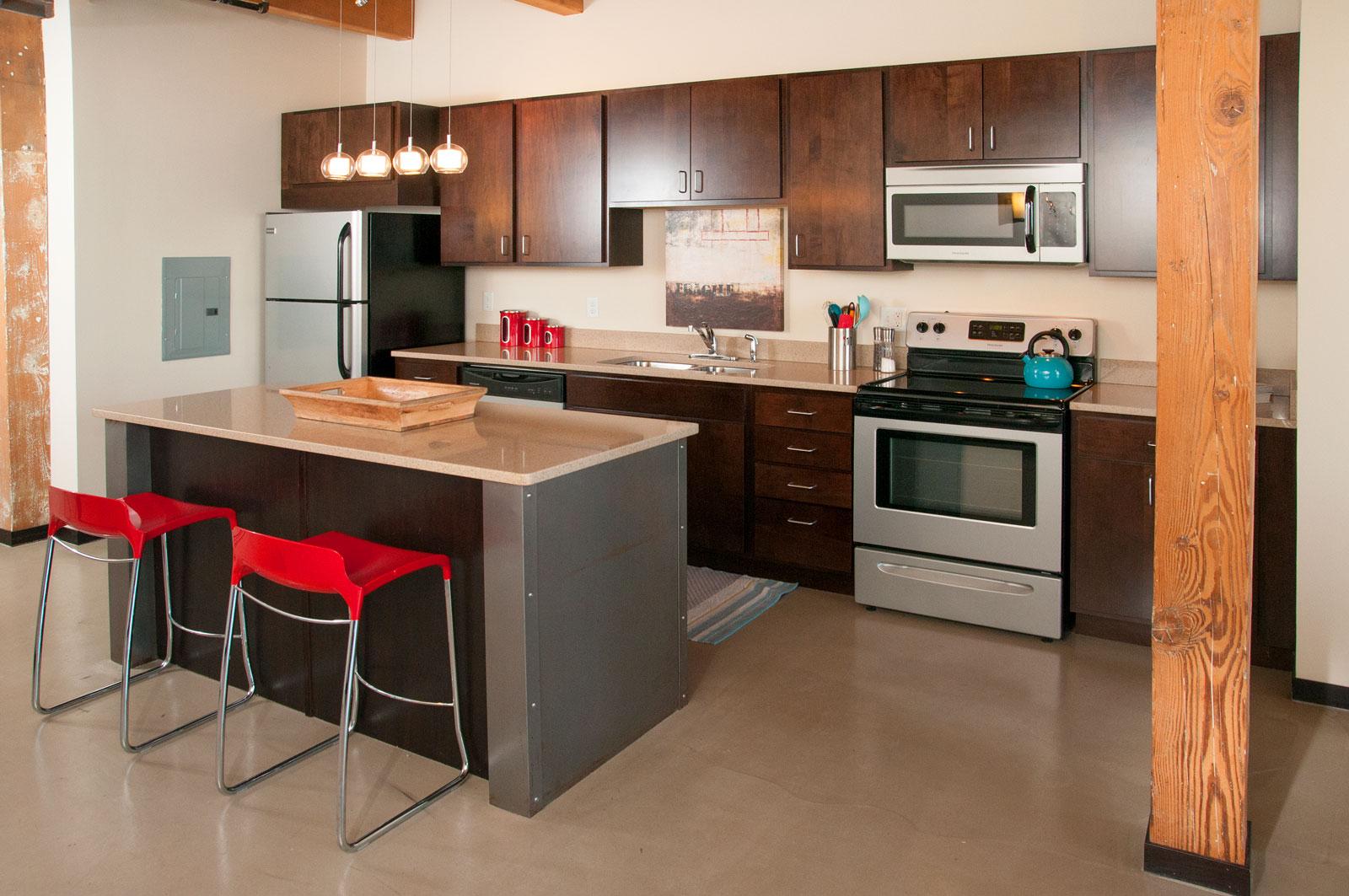 C&E Lofts Apartment Model