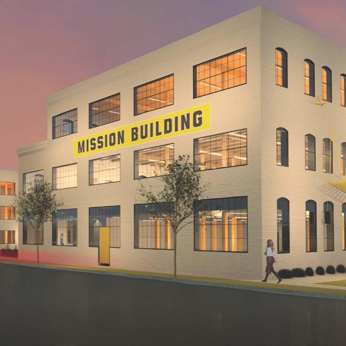 Mission Building -