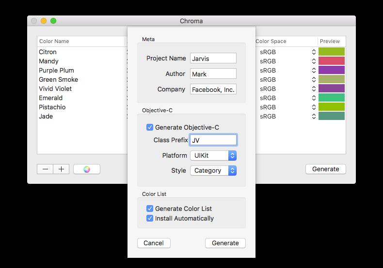 Easily generate useful files