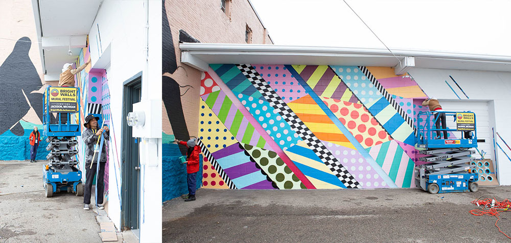 Mural by Jason Woodside