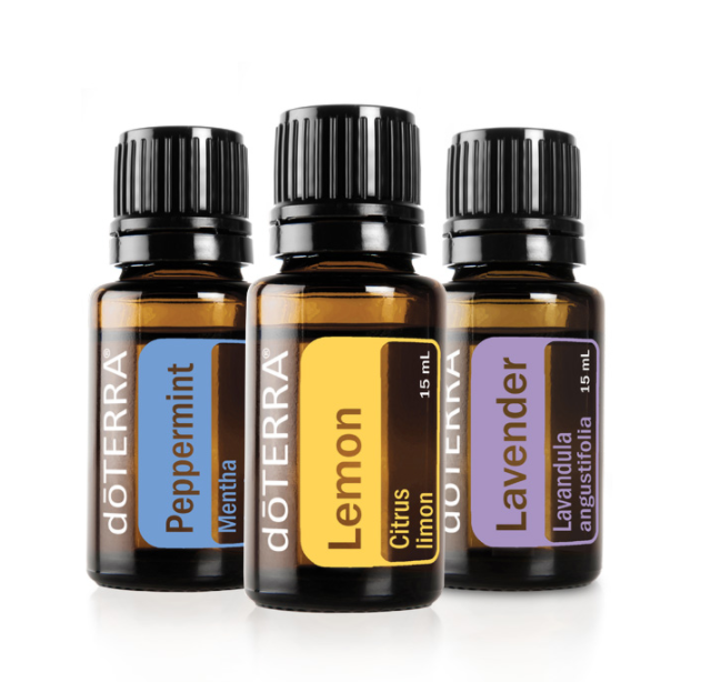 Beginners Trio Kit!   (item # 3214) 15 ml of Each Lemon, Lavender and Peppermint Essential Oil  Wholesale: $50.00 Retail: $66.67