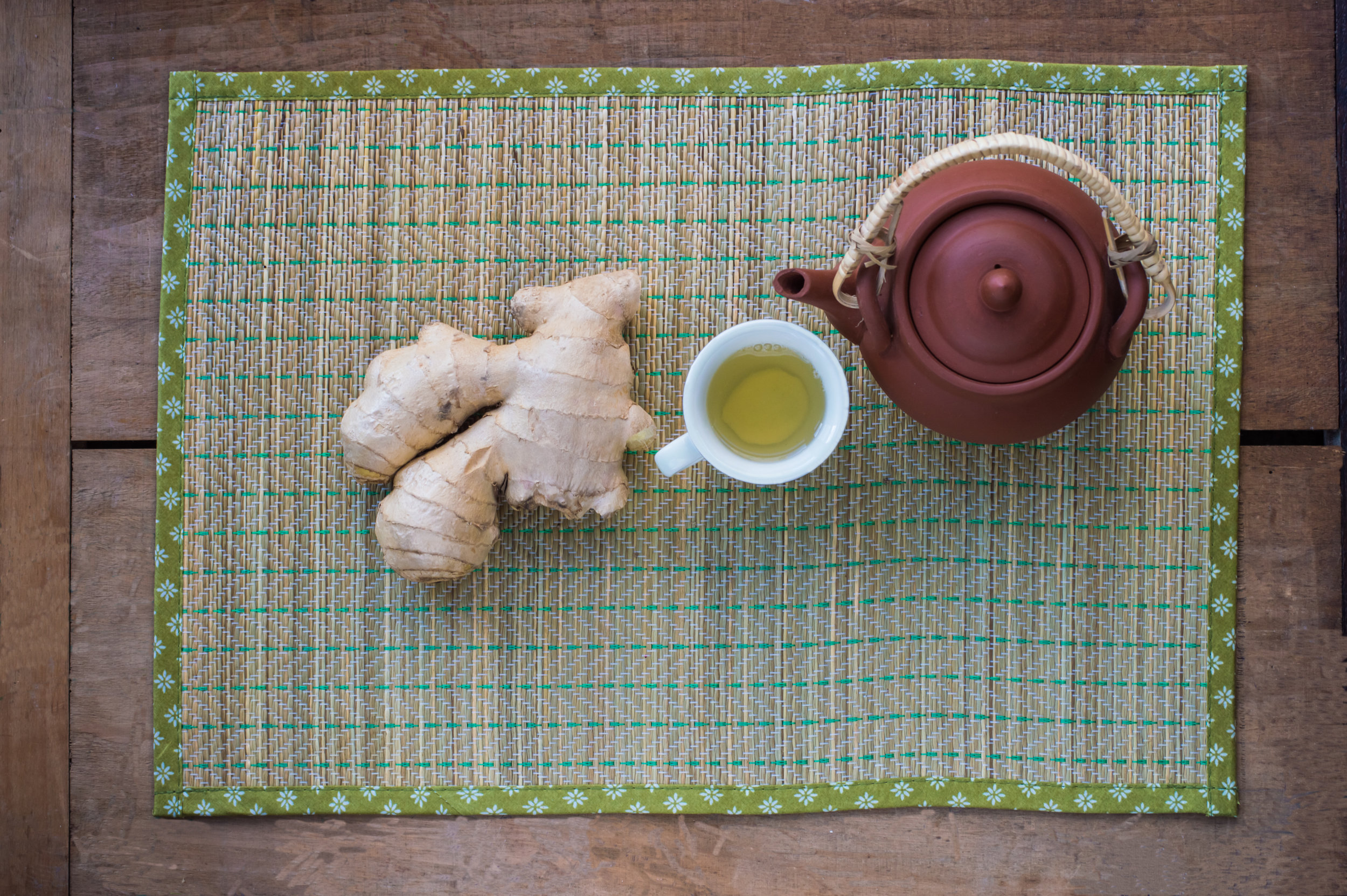 Tummy Soothing Ginger Tea Recipe