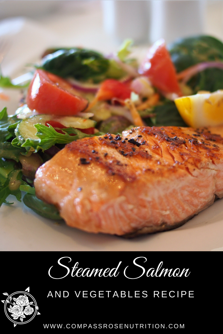 Steamed Salmon and Vegetables Recipe