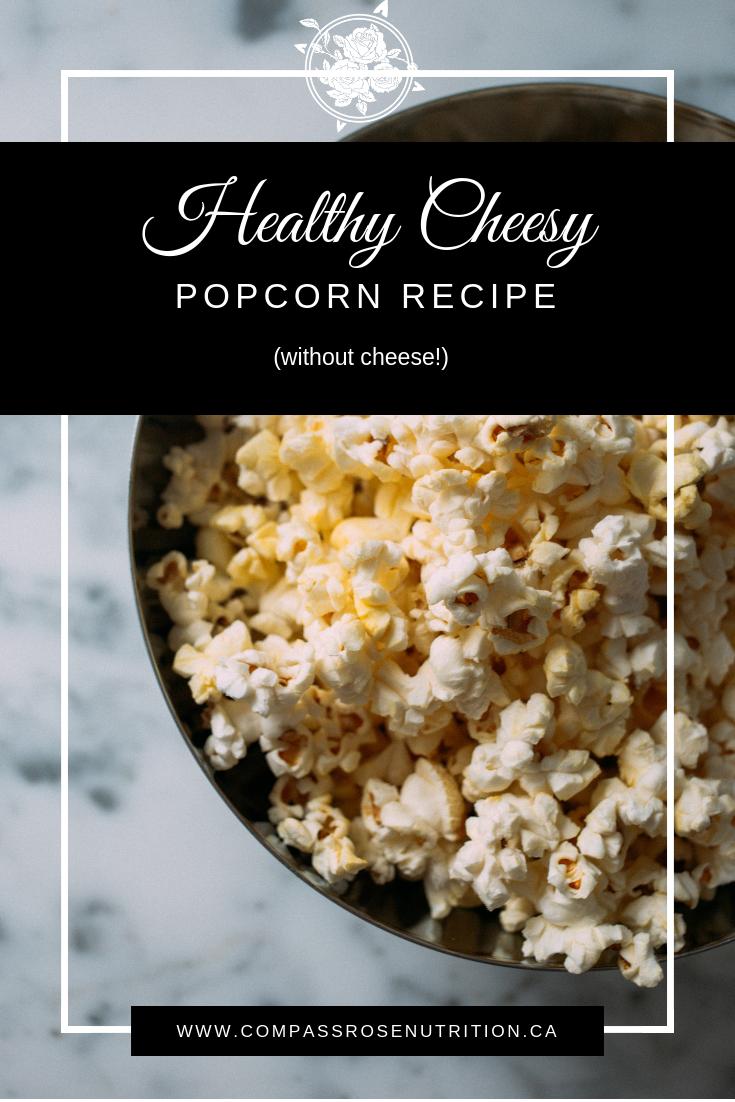 Healthy Cheesy Popcorn Recipe
