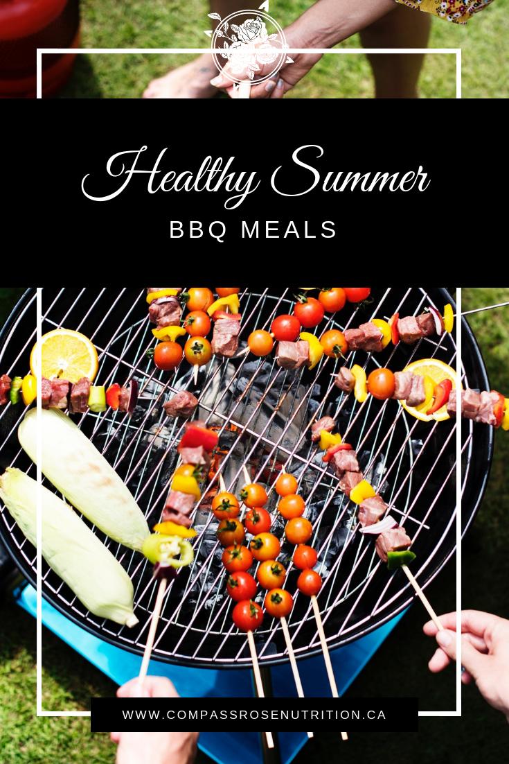 Healthy Summer BBQ Meals