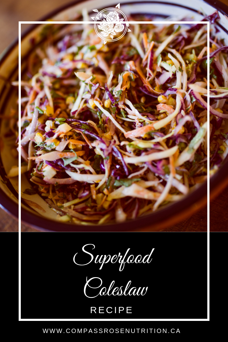 Superfood Coleslaw Recipe