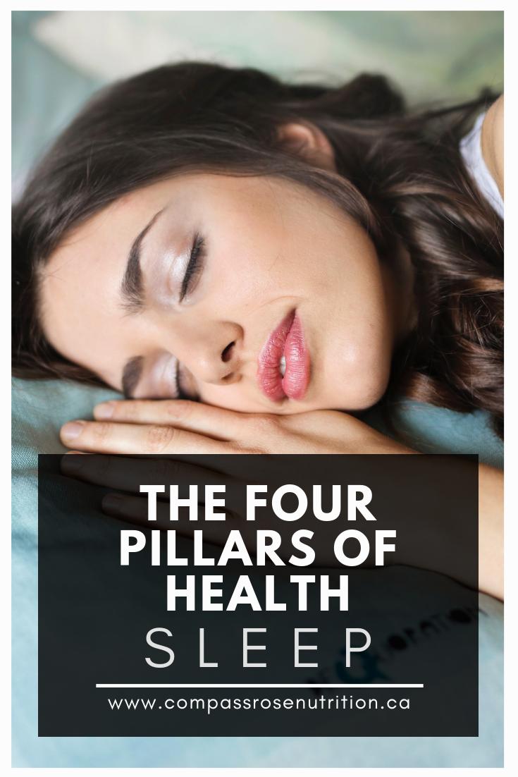 The Four Pillars of Health - Sleep