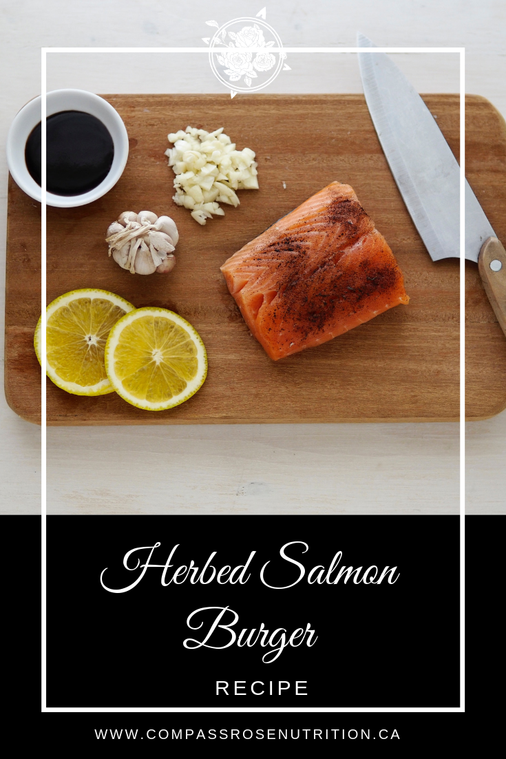 Herbed Salmon Burger Recipe