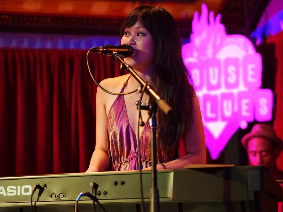 At the House of Blues in Hollywood. Photo by Lesley Park for   LA Music Blog  .
