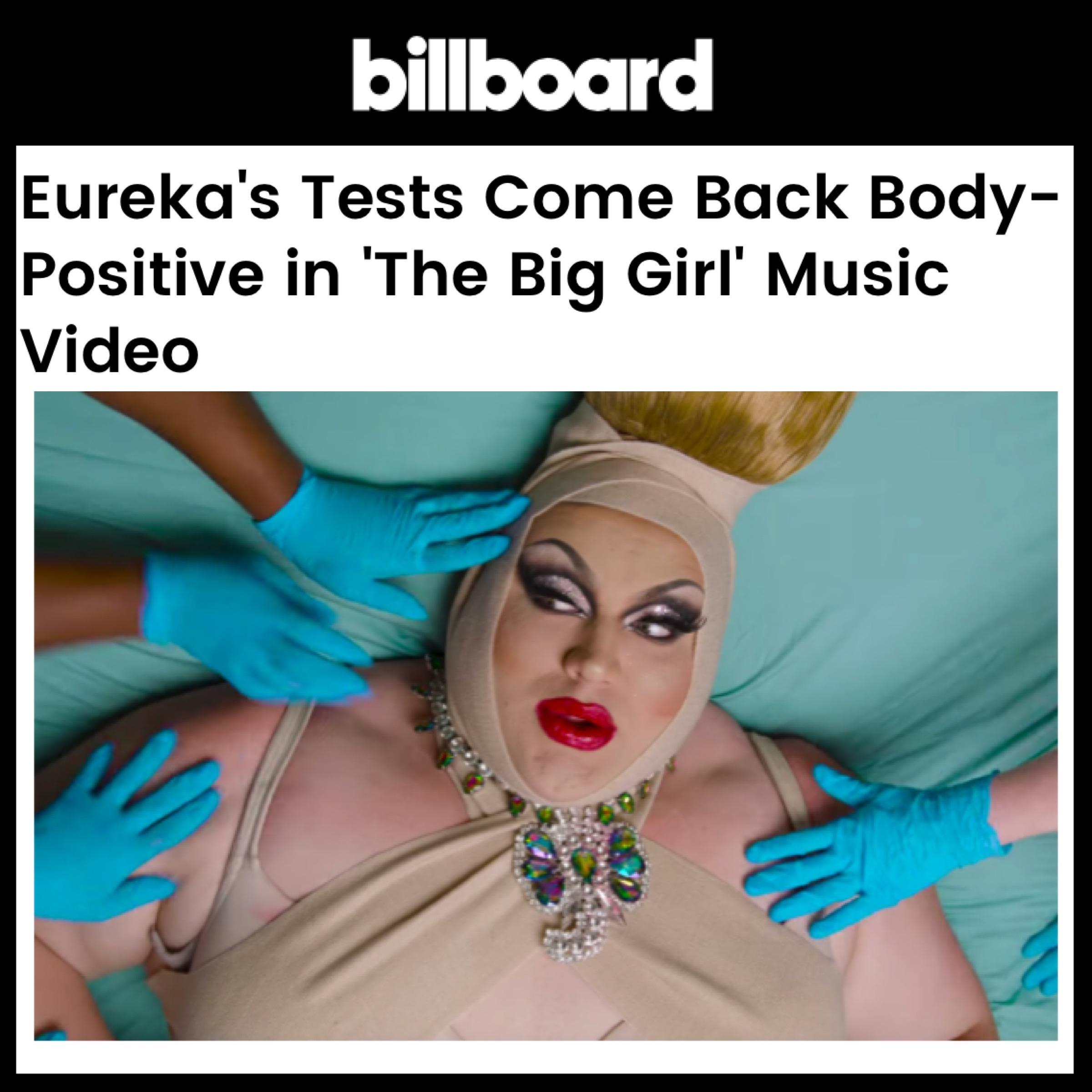 BILLBOARD - EUREKA (THE BIG GIRL)
