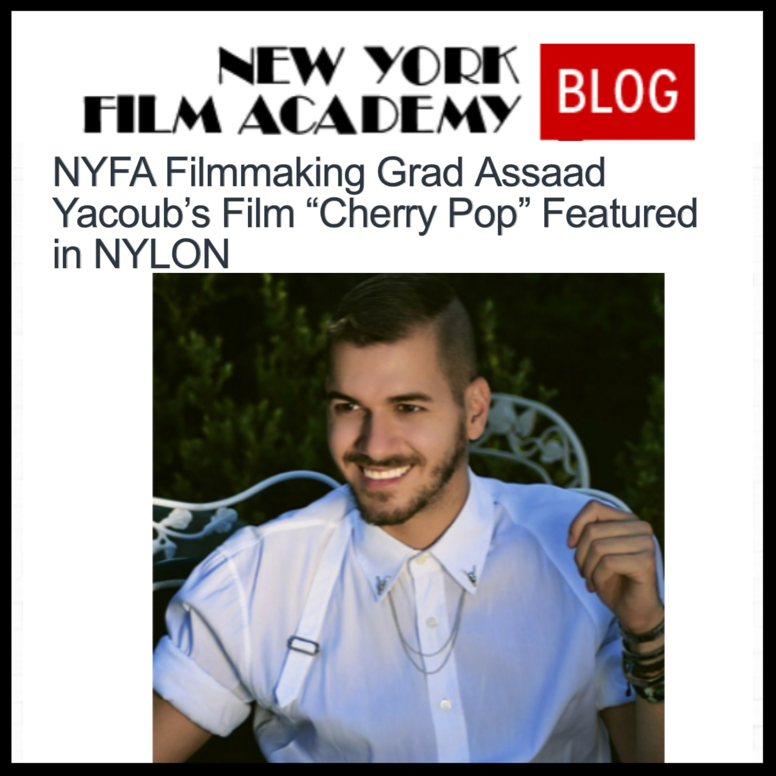 NEW YORK FILM ACADEMY BLOG