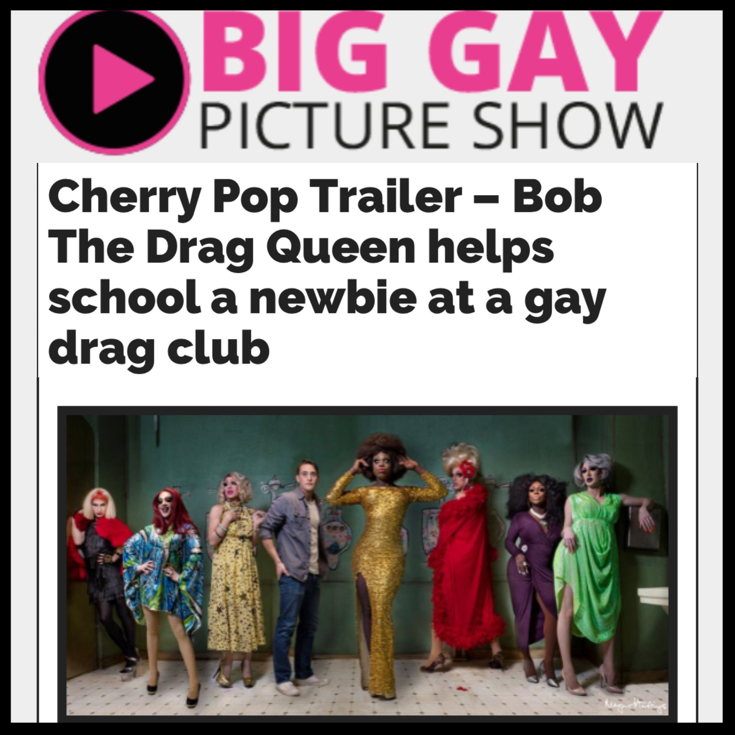 BIG GAY PICTURE SHOW