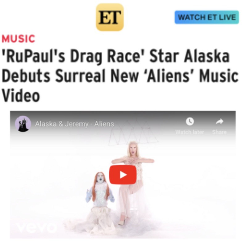 ENTERTAINMENT TONIGHT - ALASKA THUNDERFUCK (ALIENS)