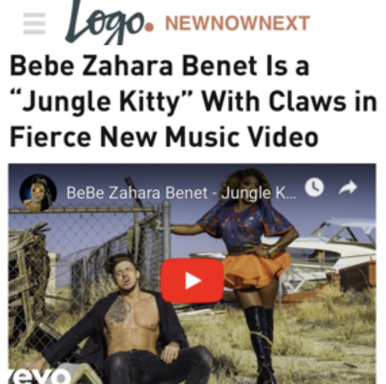LOGO - BEBE ZAHARA BENET )JUNGLE KITTY)