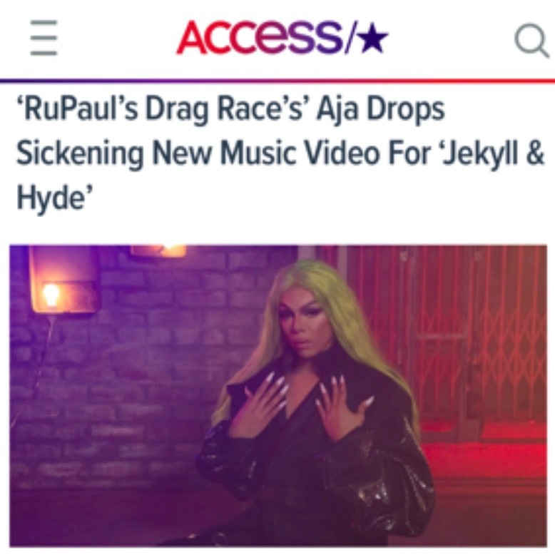 ACCESS HOLLYWOOD - AJA (JEKYLL & HYDE)