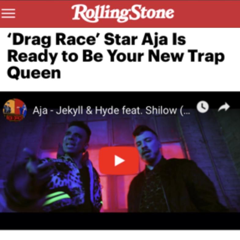 ROLLING STONE - AJA (JEKYLL & HYDE)