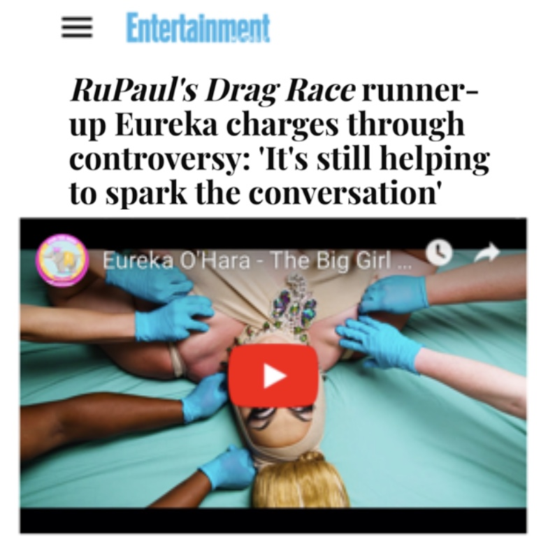 ENTERTAINMENT WEEKLY - EUREKA 9THE BIG GIRL)